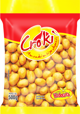 Amendoim Croki Tipo Japonês 500g