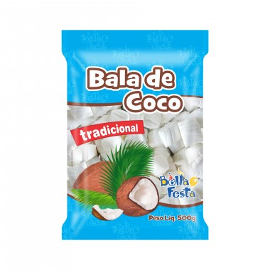 Bala Coco Festa 500g