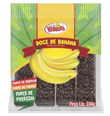 Doce de Banana Palito 104g